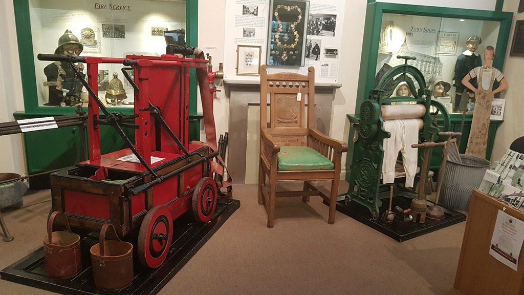 Inside Nantwich Museum