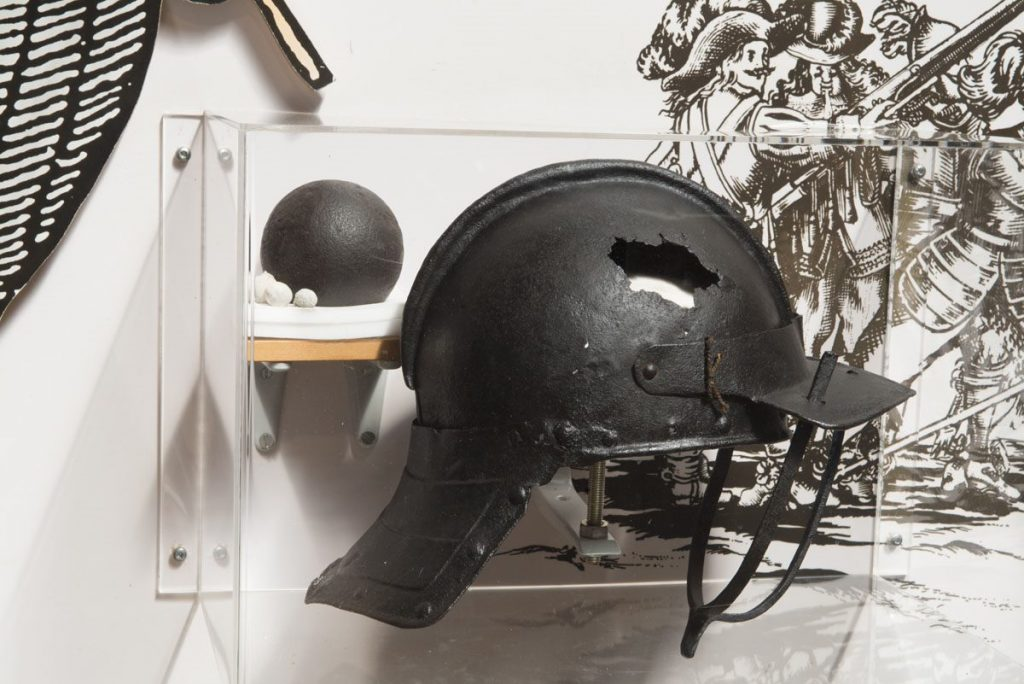 Civil war helmet