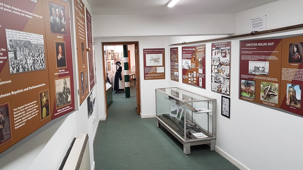 Cheshire Civil War Centre at Nantwich Museum