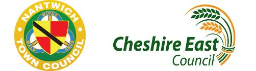 Nantwich Town Council & Cheshire East Council logos