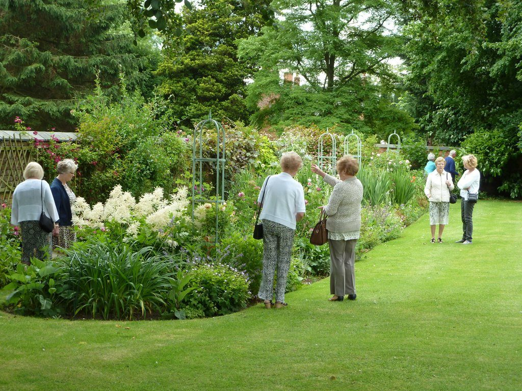 Garden Party in aid of St Mary's, Acton and Nantwich Museum