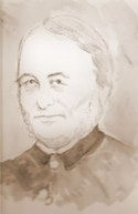 Reverend Andrew Fuller Chater vicar of Nantwich
