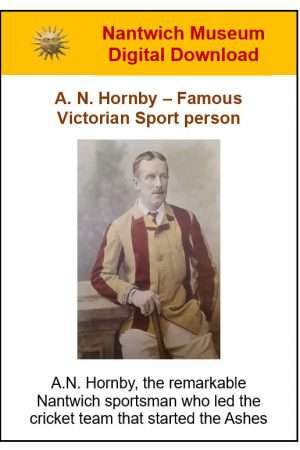 A.N. Hornby Famous Victorian Sportsperson