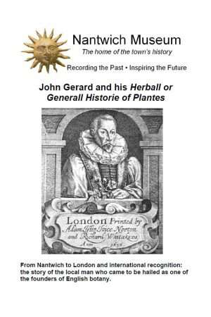 Cover to John Gerard Booklet
