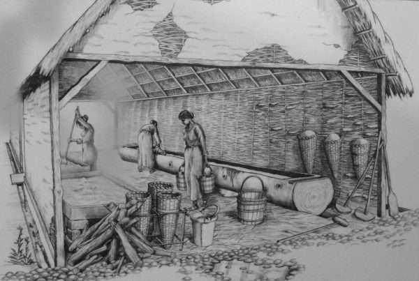 Medieval salt making