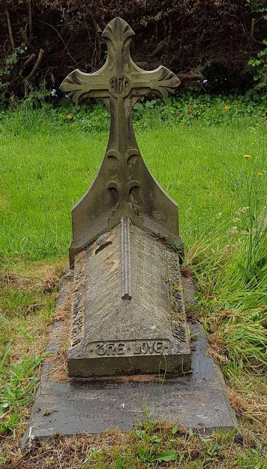 Grave of Rev Andrew Fuller Chater