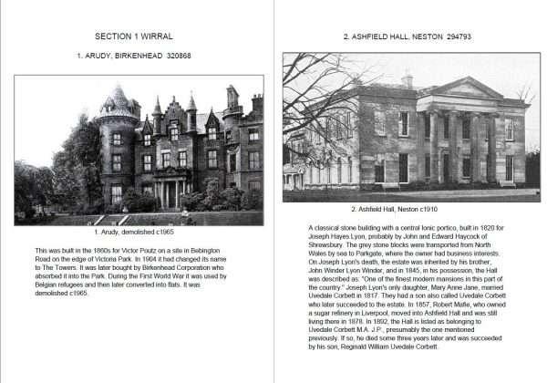 Arudy Hall and Ashfield Hall Neston
