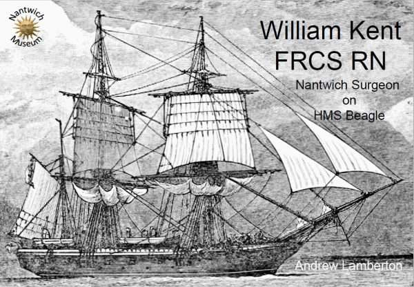 Cover of downloadable booklet about William Kent, the Nantwich Surgeon who was on HMS Beagle.