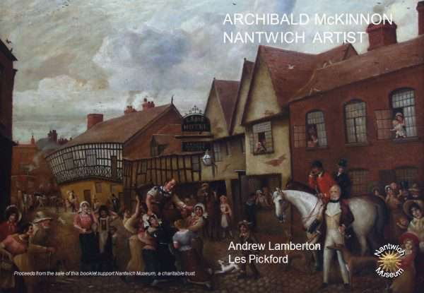 Cover of booklet about Archibald Mackinnon