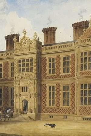 Crewe Hall by Joseph Nash (mid 19th Century)