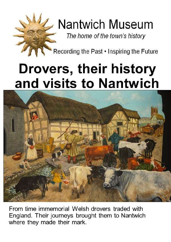 Drovers Booklet Cover