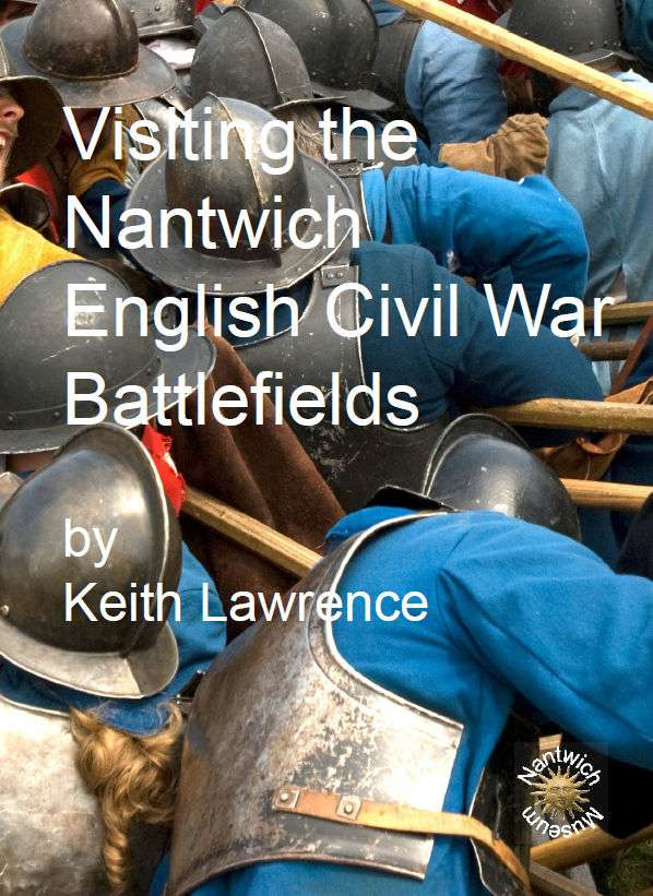 Cover of Visiting Nantwich English Civil War Battlefields booklet