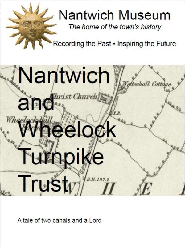Cover of Nantwich and Wheelock Turnpike Trust booklet