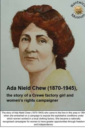 Cover of book about Ada Nield Chew by Nantwich Museum
