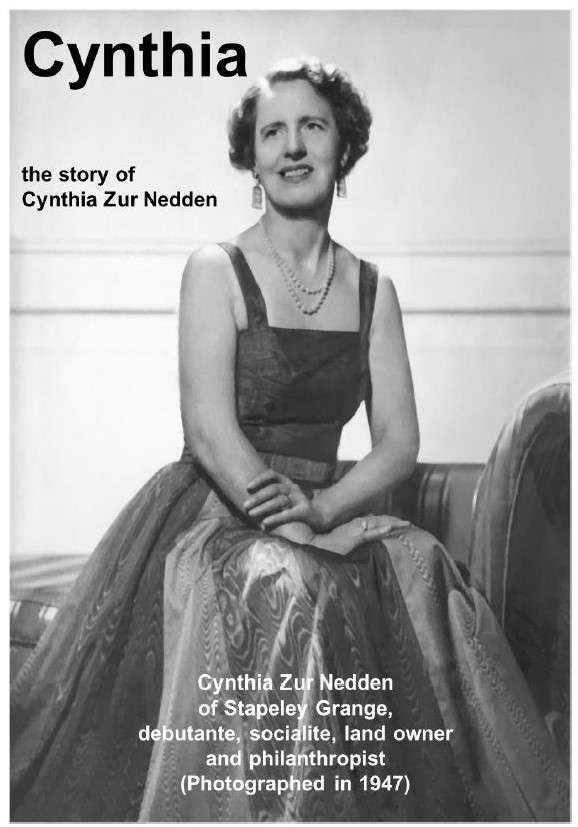 Cynthia - the story of Cynthia Zur Nedden - booklet cover