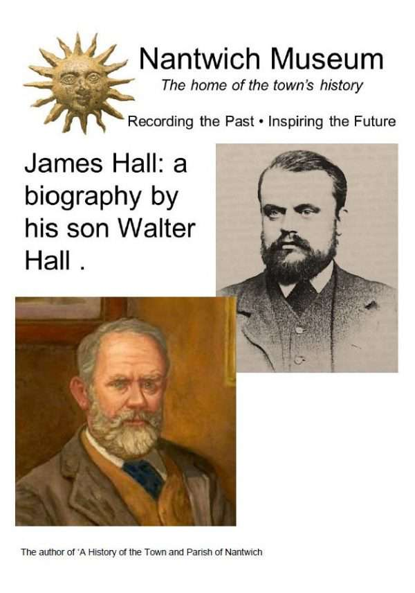 Cover of James Hall - a biography by his son Walter Hall