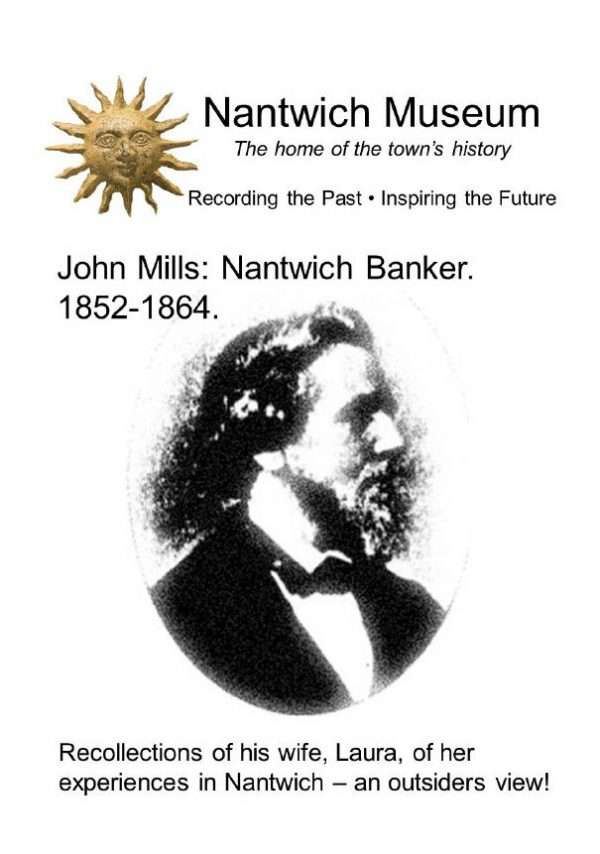 Cover of booklet about John Mills Nantwich Banker 1852 -1864
