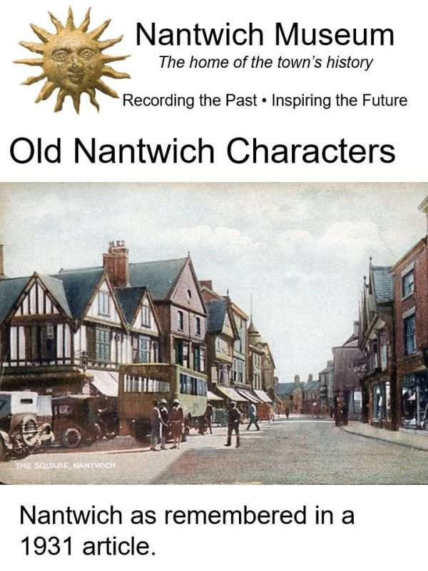 Cover to booklet about Old Nantwich Characters