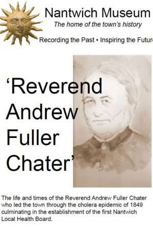 Cover of booklet about the Rev Andrew Chater