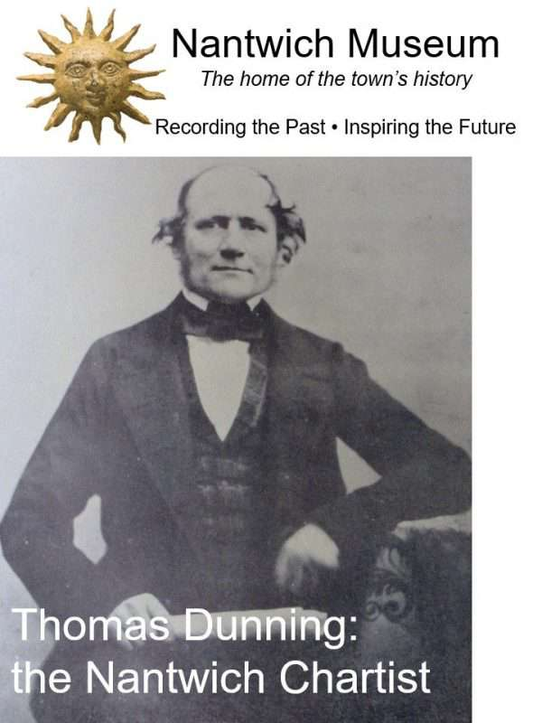 Cover of booklet about Thomas Dunning, the Nantwich Chartist.