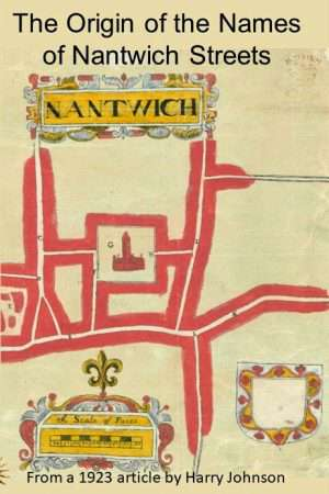 Cover of the Orgin of Nantwich Street Names