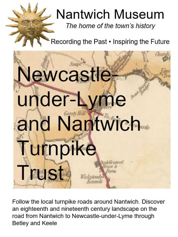 Cover to Newcastle Nantwich Turnpike Booklet