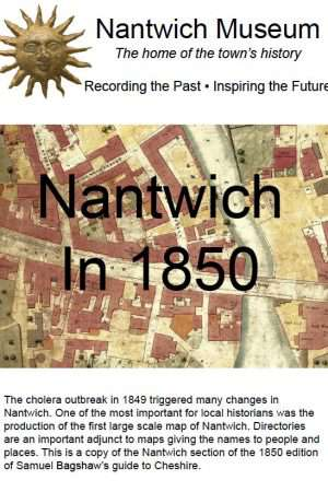 Nantwich in 1850 cover