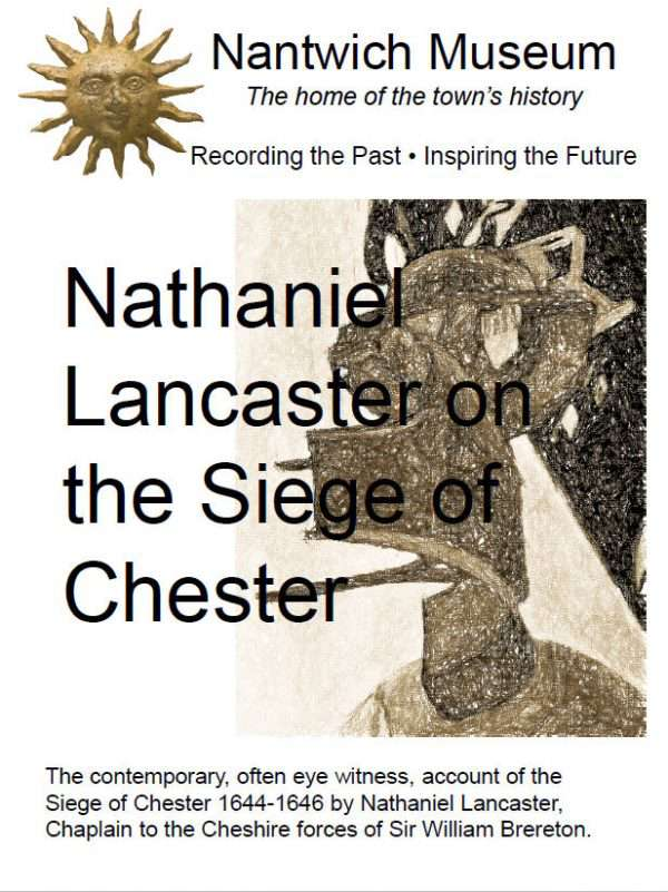 Cover to Nathaniel Lancaster on the Siege of Chester