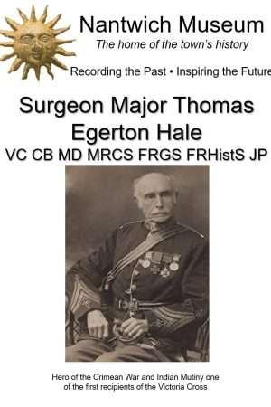 Cover to Surgeon Major Thomas Egerton Hale VC CB Md MRCS FRGE FRHistS JP