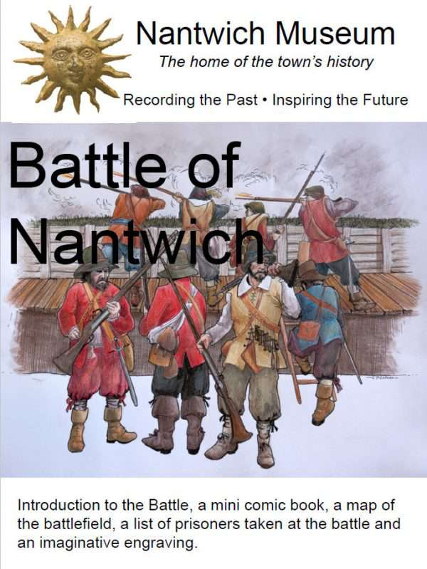 The Battle of Nantwich cover