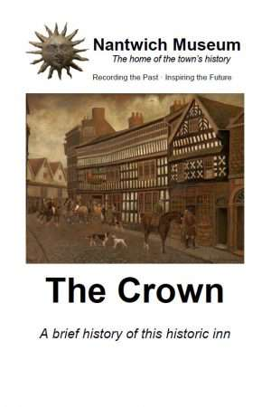Cover of booklet about the history of The Crown hotel in Nantwich