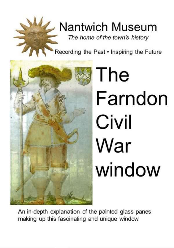Cover to booklet about The Farndon Civil War Window