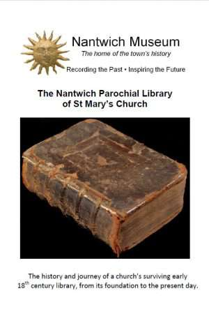 Cover to the Nantwich Parochial Library of St Mary's Church