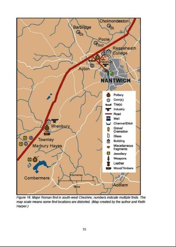 Major Roman finds in Nantwich