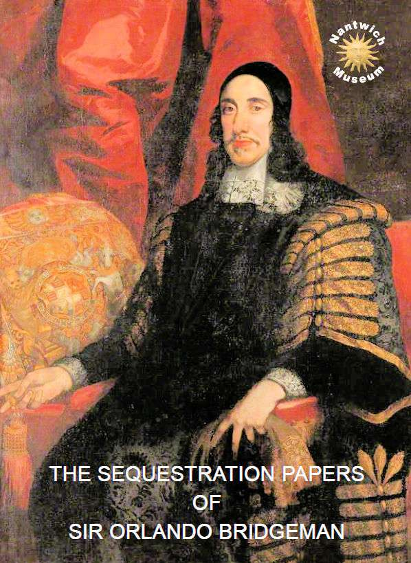 Cover to booklet - The Sequestration Papers of Orlando Bridgeman