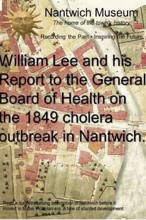 Cover to William Lee and his Report to the General Board of Health